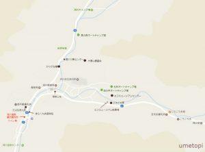洞川温泉MAP