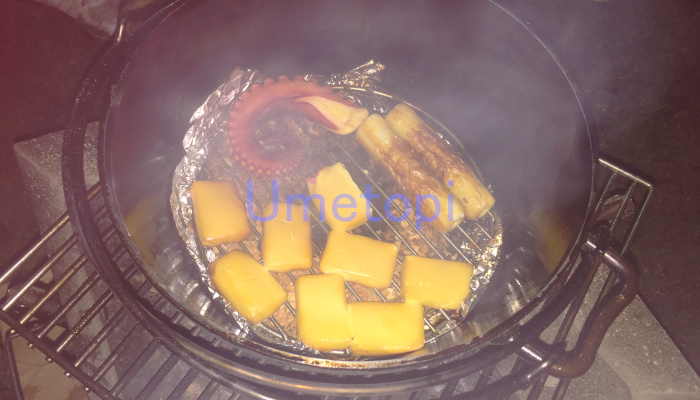 ダッチオーブン 燻製 チーズ